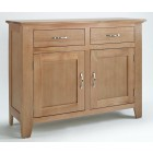 Camberley Oak 2 Door 2 Drawer Sideboard
