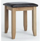 Camberley Oak Dressing Stool