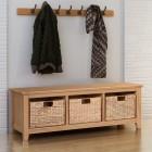 Hereford Oak Storage Bench