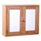 Waverly Oak Two Door Bathroom Cabinet