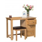 Waverly Oak Dressing Table with Stool