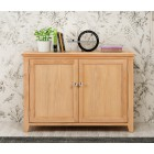 Windsor Oak Small Shoe Storage Cabinet