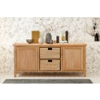 Windsor Oak Low Sideboard